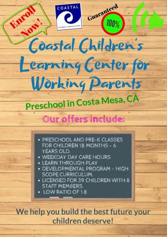give your child a happy childhood at coastal clc pre school and child care