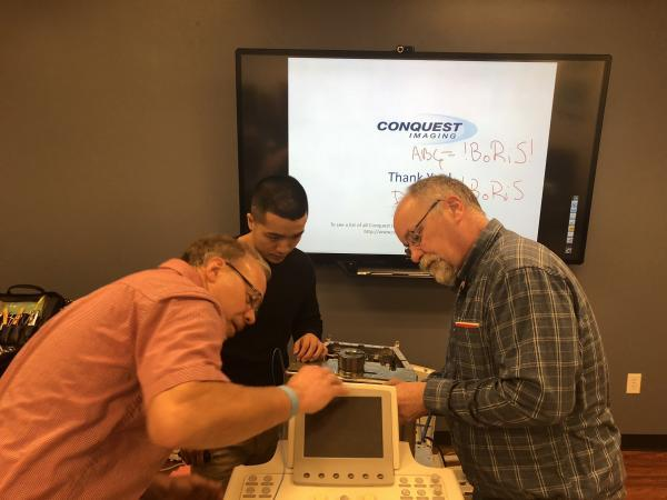 get conquest imaging next generation ultrasound training for clinical engineers