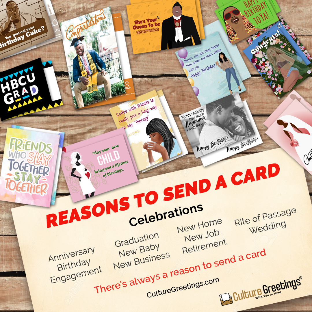 Order A Personalized Cultural Greeting Card Online And Send The Printed Card In The Mail