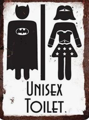 funny bathroom sign