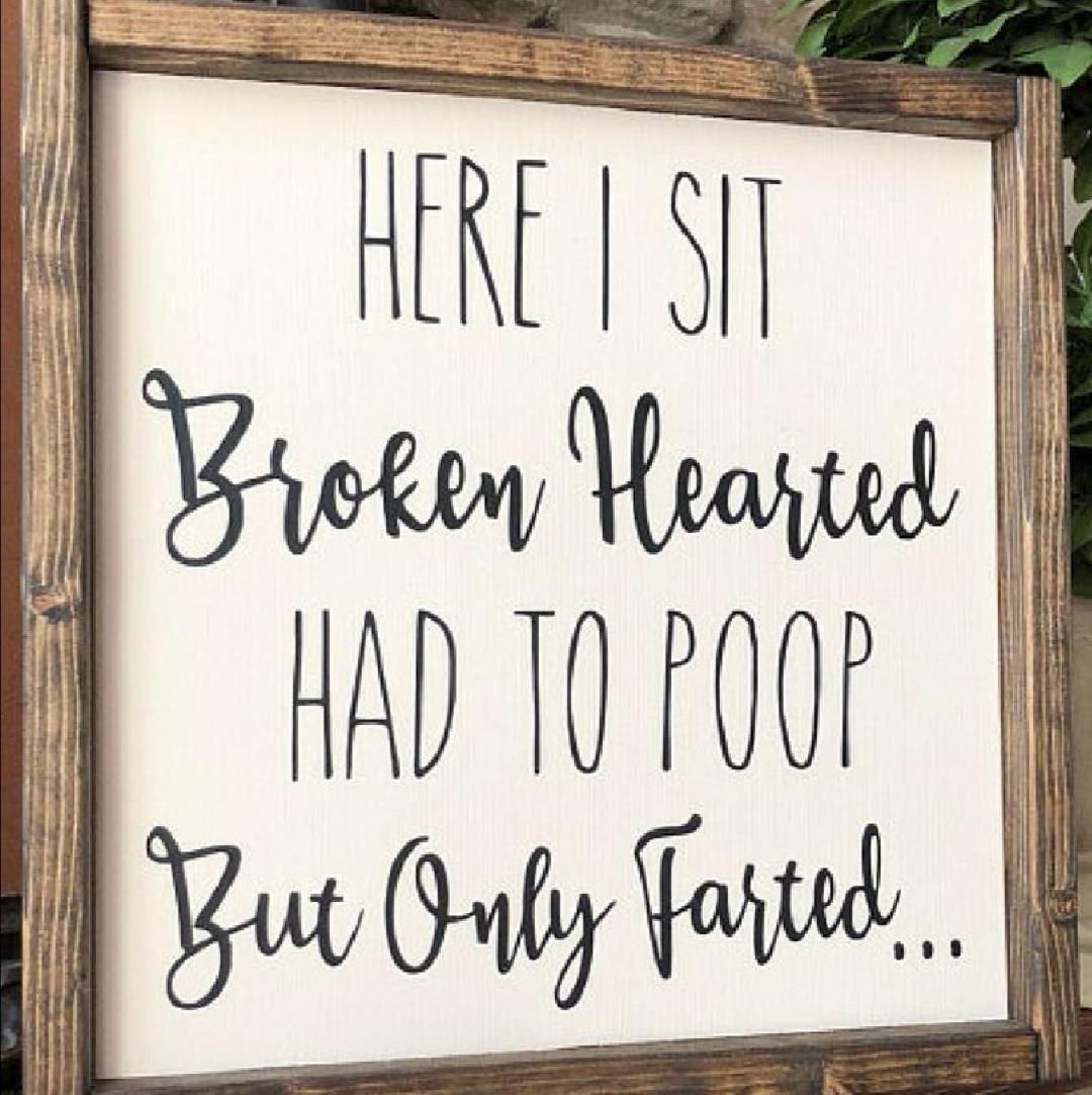 funny bathroom signs