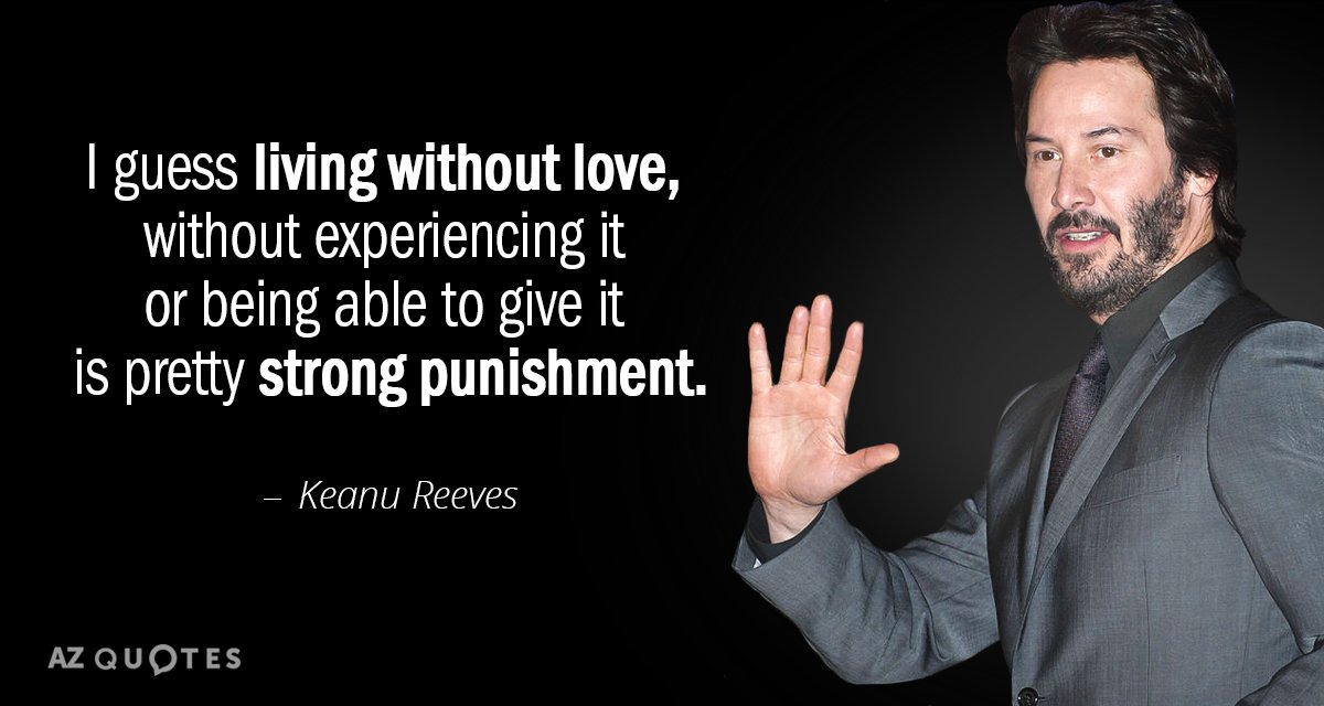 keanu reeves quotes
