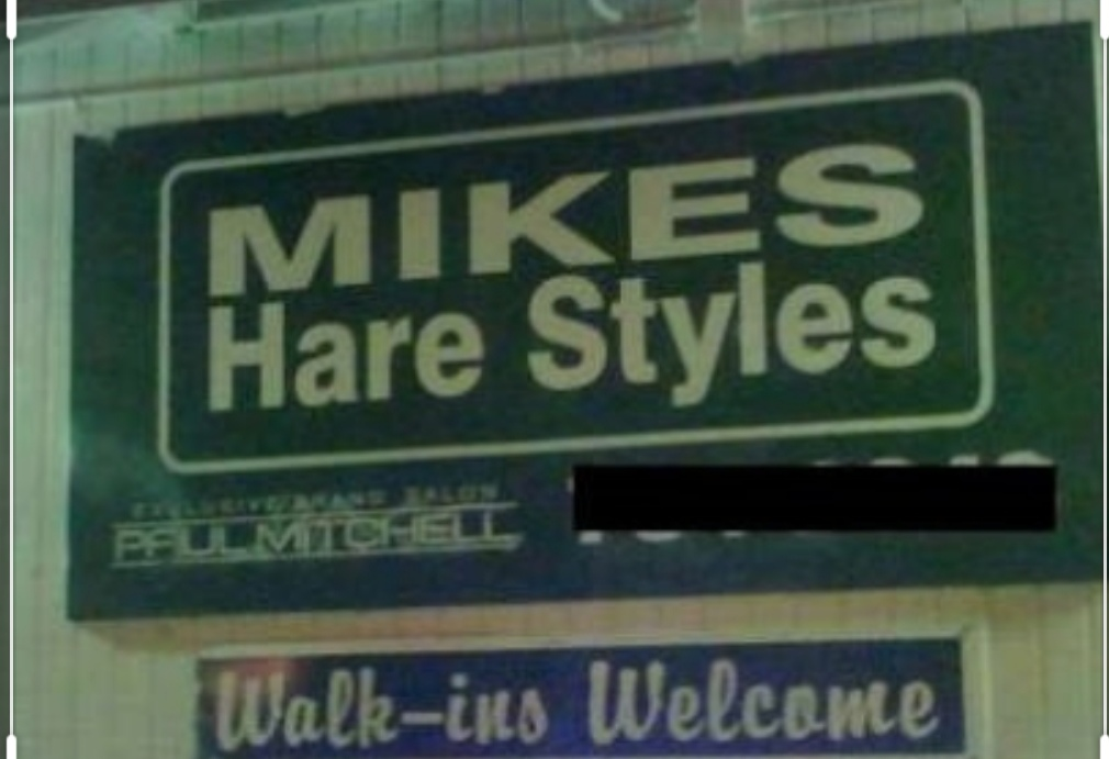 funny grammar mistakes signs