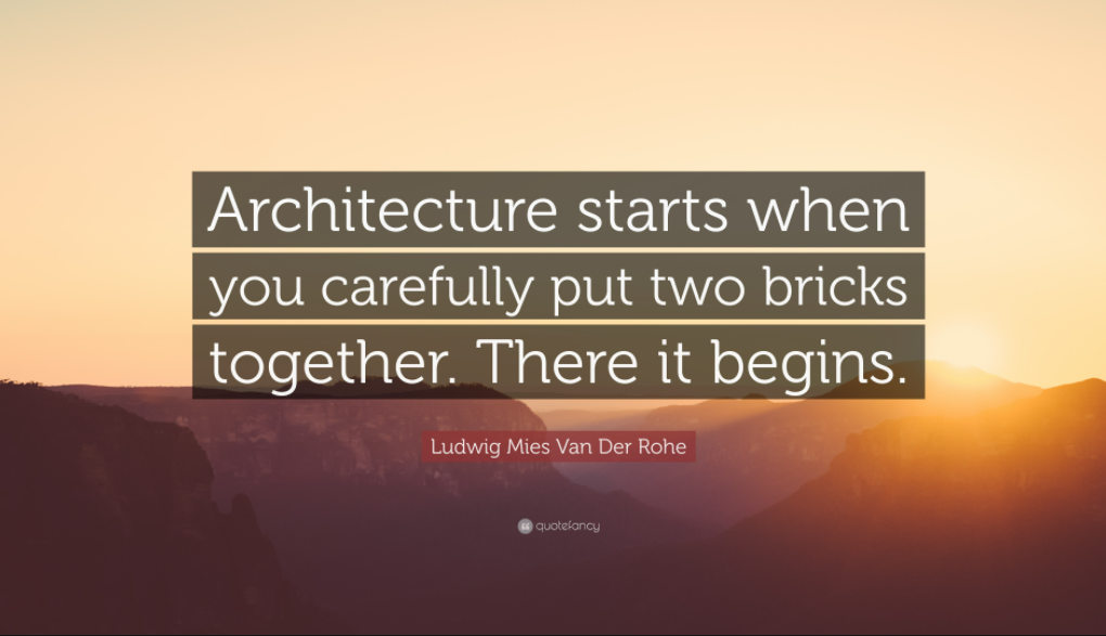 quotes about architecture