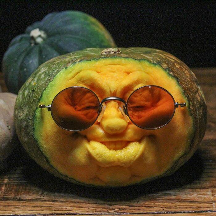 carving food vegetables art