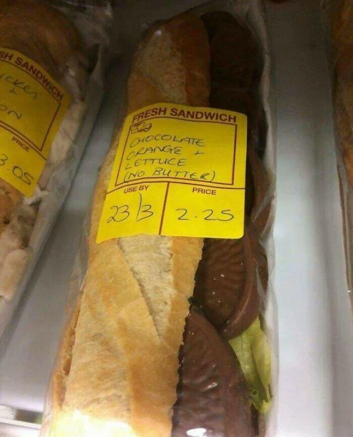 sandwich awful
